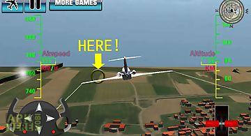 Airplane 3d flight simulator