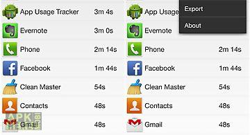 App usage tracker
