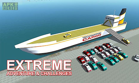 cargo ship car transporter sim