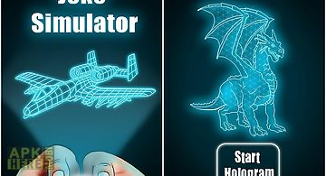 Hologram 3d joke simulator