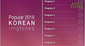 Korean ringtones free
