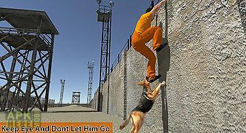 Police dog prisoner escape