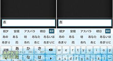 Clearkeywater2 keyboard skin