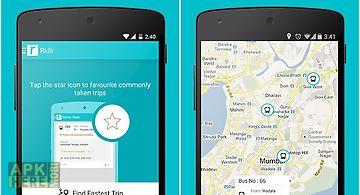 Ridlr: public transport app