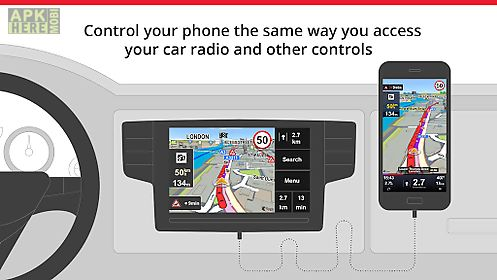 Sygic car navigation for Android free download at Apk Here store