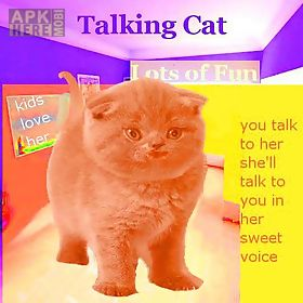 Talking cat for Android free download at Apk Here store