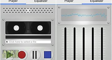Tape audio recorder