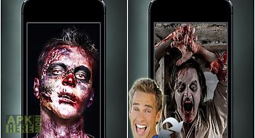 Zombiefaced free zombie booth
