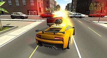 Battle car driver