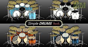 Simple drums - rock