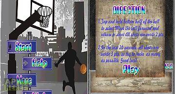 Basketball shooting games