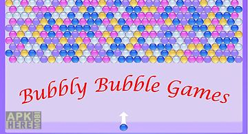 Bubbly bubble games
