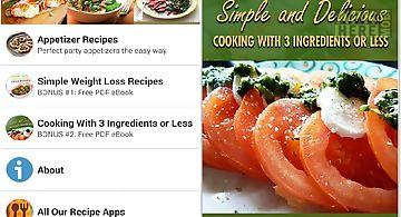Easy recipes cookbook 3za