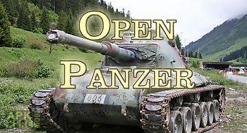 Open panzer