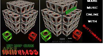 Buttonbass hip hop cube