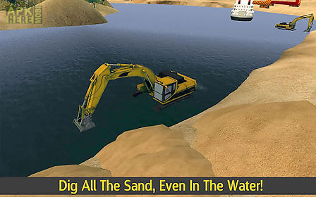 hill climb excavator & truck