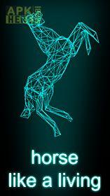 hologram horse simulator