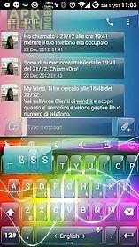 keyboard theme glass electric