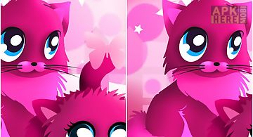 Pink cats theme 4 go launcher