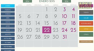Calendario facil para android