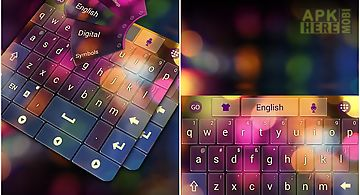 Color glass go keyboard theme