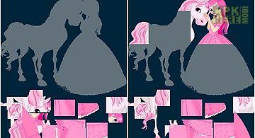 Puzzle shapes - princesses