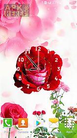 rose flower clock