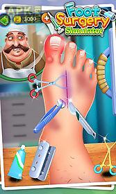 foot surgery simulator