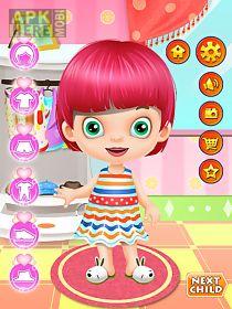 kids spa salon: girls games