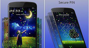 Lockscreen - butterfly&firefly