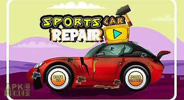 Sports car repair shop