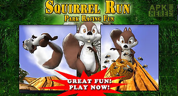 Squirrel run - park racing fun