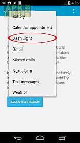 tf: dash light