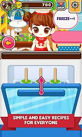 chef judy: ice candy maker