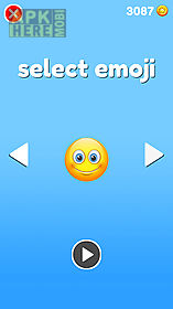 emoji sliding: jumping down