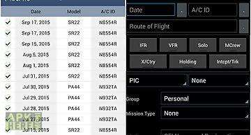 Zululog pilot logbook