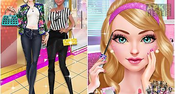 Glam doll salon: bff mall date