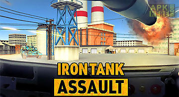 Iron tank assault: frontline bre..