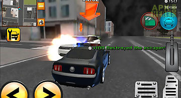 Police cars vs street racers