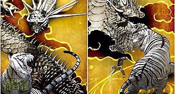 Tiger & gold dragon trial