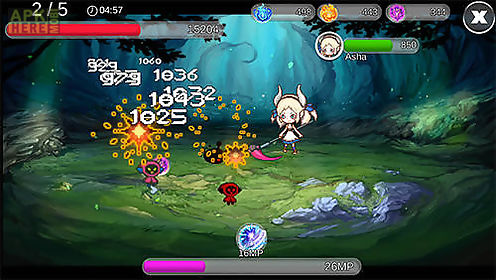 Demon party game for android description: Start a journey together with  asha and her friends having demonic abilities. Fight against powers of  chaos and ...