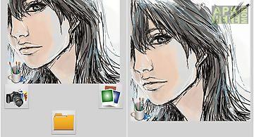 Photo editing sketch plus