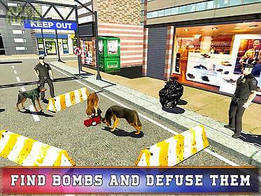 police dog training simulator