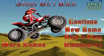 Stunt dirt bike free
