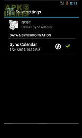 caldav sync free beta