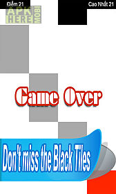 deadly white do not tap the white piano tiles