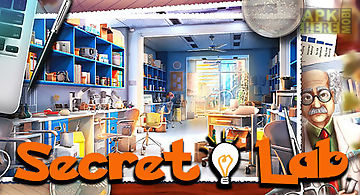 Hidden objects: secret lab