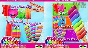 Imake ice pops-ice pop maker
