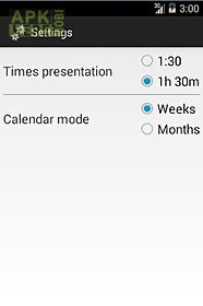 Time recording for Android free download at Apk Here store