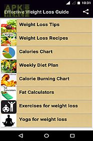 effective weight loss guide